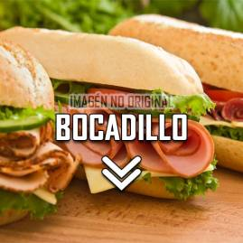 Bocadillo hamburguesa normal